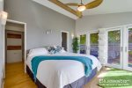 Master suite comes with a comfy California king size bed