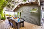 Take advantage of San Diego`s year round weather with outdoor dining