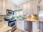 Kitchen with High-end Stainless Steel Appliances