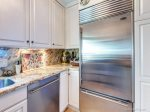 Stainless Steel Refrigerator and Dishwasher