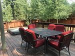 Summer deck w/ patio furniture