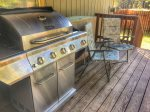 New gas BBQ on back deck