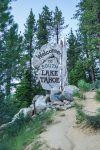 The famous South Lake Tahoe sign