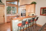 Bar Seating in Kitchen