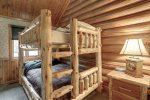 Bear Butte Gulch Lodge  with  full size bunk beds.