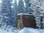 The Fort - cozy A-frame cabin close to the ski lodge