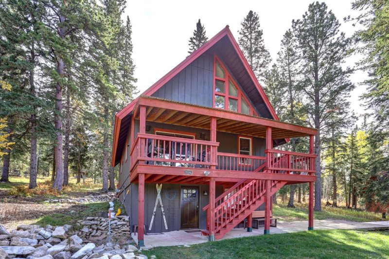 for cabin rent rafterj comfort at resort black cabins hills camping dakota south in the rentals