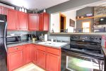 Alpine Getaway - Kitchen with newer appliances.