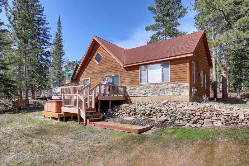 for black cabins guest to welcome ridge south hills dakota in the of rustic rent