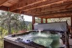 Cabin Fever large deck with forest views/