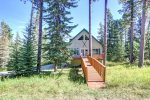 Front walk-way to the cabin
