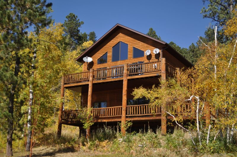 Westwinds Lodge. Luxury Cabin In The Black Hills ...