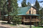 Whitetail Lodge in the Summer