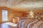Eagle`s Lair loft area with two Queen beds.