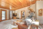 Chase`s cabin  Main floor view of open design.