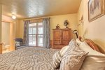 Chase`s cabin deck with eating area.
