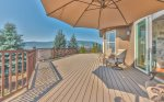 Utah Lodging / Elkhorn Home / Main Level / Deck