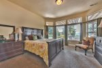 Utah Lodging / Elkhorn Home / Lower Level / Master Suite
