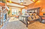 Utah Lodging / TR 123 / Main Level / Master Suite