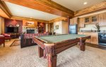 Utah Lodging / TR 123 / Lower Level / Pool Table