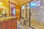 Utah Lodging / TR 123 / Lower Level / Ensuite Bath