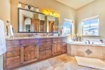 Utah Lodging / Ski Lake Lodge / Main Level / Master Suite