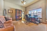 Utah Lodging / Ski Lake Lodge / Main Level / Study