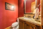 Utah Lodging / Ski Lake Lodge / Main Level / Powder Room