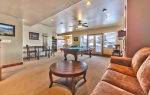 Utah Lodging / Ski Lake Lodge / Lower Level / Living