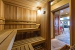 Utah Lodging / Ski Lake Lodge / Lower Level / Sauna
