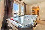 Utah Lodging / Ski Lake Lodge / Lower Level / Air Hockey