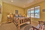 Utah Lodging / TR 78 / Main Level / Queen Bedroom with ensuite bathroom