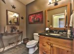 Utah Lodging / TR 78 / Main Level / Twin Bedroom with half bathroom