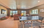 Utah Lodging / TR 78 / Lower Level / Ping Pong Table