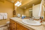 Utah Lodging / TR 89 / Lower Bathroom