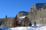 The townhomes are nestled in the Aspen and Douglas Fir forest under the magnificent 1500 foot high Hermosa Cliffs...