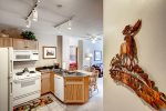 Kitchen - 2 Bedroom - River Run Village Condos