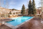 Outdoor Pool The Borders Lodge at Beaver Creek, 3 Bedroom Vacation Rental Condo