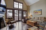 Inviting Living Room - 4 Bed - One Ski Hill Place - Breckenridge CO
