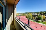 Balcony - Main Street Station Breckenridge 1 Bedroom Rental