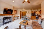 Kitchen - Main Street Station Breckenridge 1 Bedroom Rental