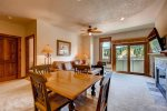 Dining - Main Street Station Breckenridge 1 Bedroom Rental