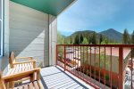 Outdoor Sitting Area on Balcony - Silver Mill 8238 - Keystone CO