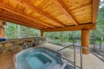 Shared River Run Pool in Summer - Jackpine Lodge 8011 - Keystone CO
