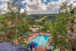 River Run Heated Outdoor Pool in Winter - Jackpine Lodge 8011 - Keystone CO