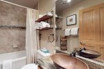 Upgraded Bathroom w/ High-End Finishes - Arapahoe Lodge 8105 - Keystone CO