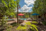Shared Pool in Summer - Arapahoe Lodge 8105 - Keystone CO