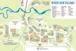 River Run Village Map - Arapahoe Lodge Central Location
