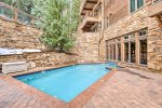 Indoor/Outdoor Pool - The Timbers - Keystone CO