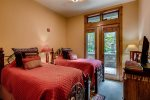 Outdoor Firepit and Patio Area - The Timbers - Keystone CO